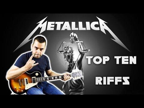 Top 10 Riffs - METALLICA