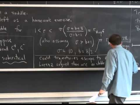 MAE5790-17 Chaos in the Lorenz equations