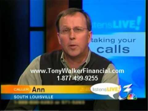 Tony Walker Financial:  Taking Risk