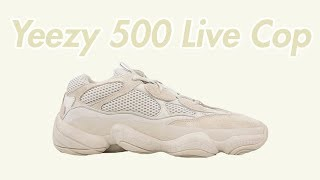 Yeezy 500 Live Cop on Yeezy Supply and Undefeated