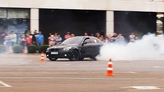 Автослалом на BMW E60 (Кривой Рог)