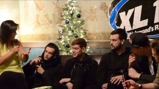 XL102 Presents: Miracle on Broad Street Night #1 Interview with The 1975