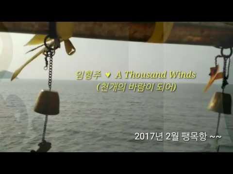 임형주 ~~   A Thousand Winds  (가사 ) 천개의 바람이 되어