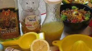 How To Make Honey Lemon Twist Dressing