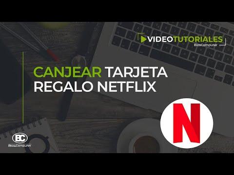 Canjear PIN Tarjeta Regalo Netflix - BiosComputer