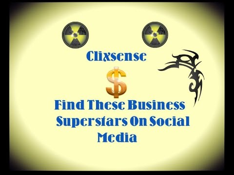 Clixsense or Neobux Find These Business Superstars On Social Media