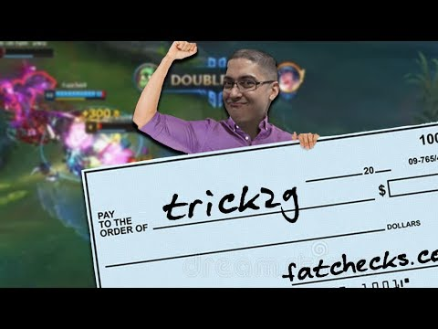 GETTING PAID FAT CHECKS ON THE RIFT!! | ELECTROCUTE FULL AP AMUMU - Trick2G