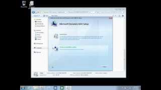Microsoft Dynamics NAV 2009 - Installing the Service Tier