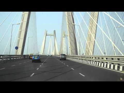 Mumbai Bandra Worli Sea link/bridge