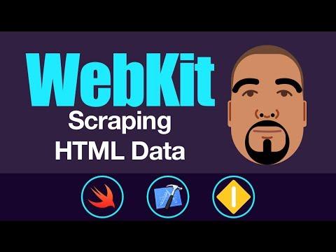 WebKit: Scraping HTML Data | Swift 3, Xcode 8