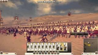 Makedonya&Averniler vs Sparta&Mısır [Total Warcılar]