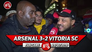 Arsenal 3-2 Vitoria SC | Tierney Was Like Beckham On The Left Whippin Them In! (Troopz)