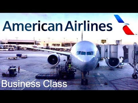 American Airlines Business Class Los Angeles to London Boeing 777-300ER Review