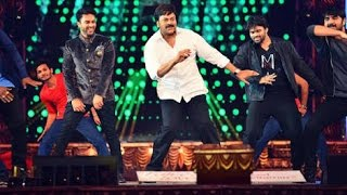 actor chiranjeevi Dance Performance 2016 | cinemaa awards Function 2016 | Telugu Stage Show