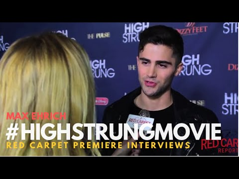 """Max Ehrich #ThePathOnHulu at the Red Carpet Premiere for """"High Strung"""" #HighStrungMovie"""