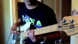 Roadhouse Blues - Bass Cover - Jim Morrisson (The Doors) & John Lee Hooker