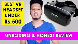 Best VR headset under Rs.500 (hindi) High quality VR experience at just 500 rupees
