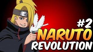Naruto Revolution #2 Deidara e Hidan na Akatsuki