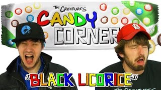 Double Salt Black Licorice | Candy Corner