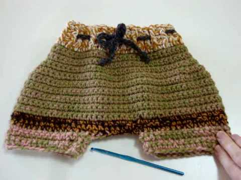 How To Crochet A Cloth Diaper Cover Introduction Youtube
