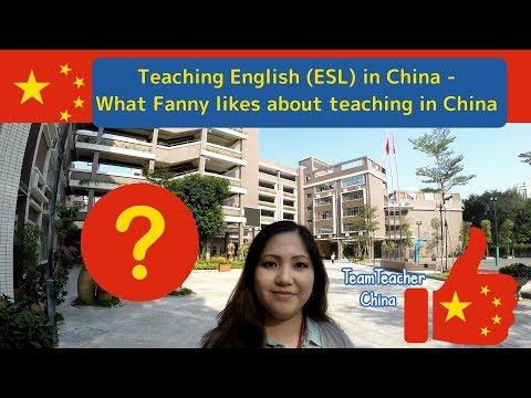 What's it like teaching in Shenzhen?