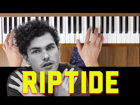 Riptide (Vance Joy) [Piano Tutorial- Easy]