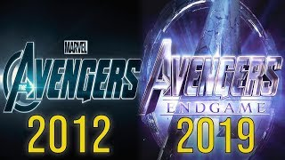 Evolution Of Avengers MCU Movies (2012-2019)