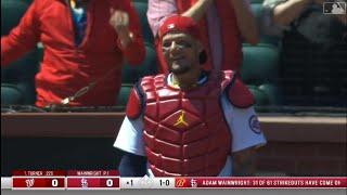 야디에르 몰리나, MLB 한 팀에서만 포수 2000경기…