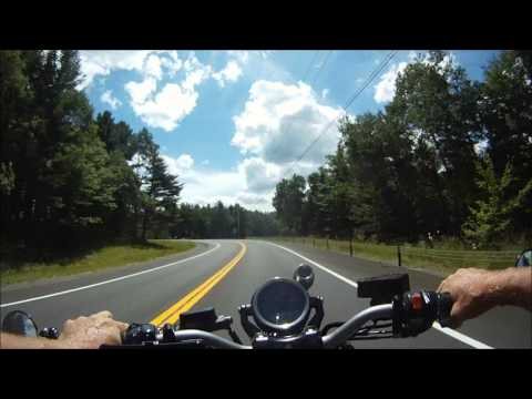 Adirondack Park, New York with 2009 VMAX times2