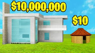 LUXURIOUS vs. CHEAP House Build CHALLENGE! (Roblox)