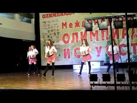 ШТ PALMIRA. Стрип пластика, эротическое шоу, малая группа- Школьницы, трости, галстуки