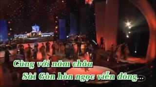 [Karaoke HD] Quê Hương Ba Miền | Full Beat Gốc | Quang Lê