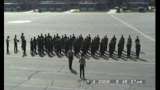 Marine Boot Camp Marching Cadence