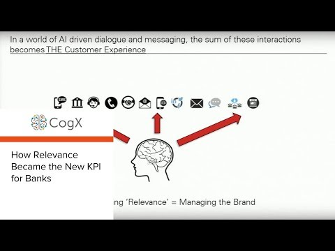 CogX 2018 - How Relevance Became the New KPI for Banks