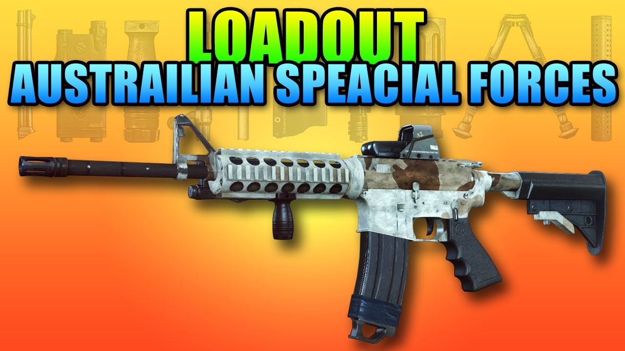 BF4 Loadout Australian Special Forces Battlefield 4 M4