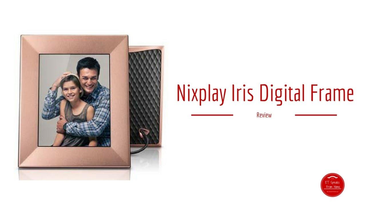 nixplay iris wifi digital frame review - Wifi Digital Frame