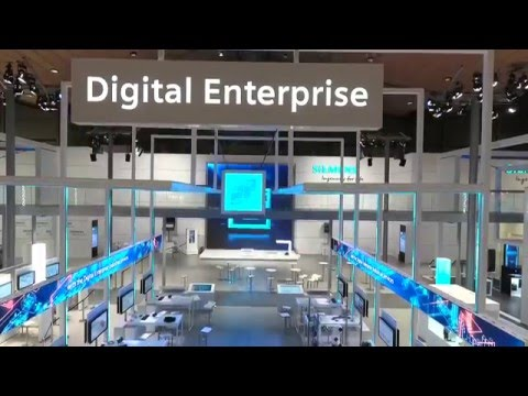 Guided Tour - Siemens at Hannover Messe 2016