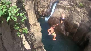 El Salvador - Tamanique waterfalls HD