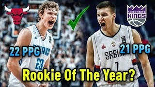 Two EUROPEAN Players That Could Win The 2017/2018 NBA ROOKIE OF THE YEAR!