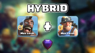 Hogs + Miners Attack Strategy at TH13 in Legend League | Clash of Clans
