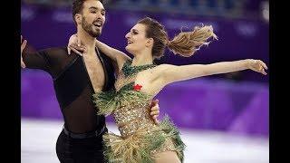 Французская фигуристка Габриэлла Пападакис оголила грудь на Олимпиаде в Пхёнчхане