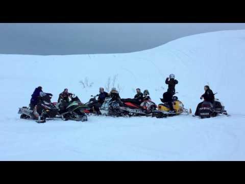 Harlem Shake 2013 Norway Snowmobile