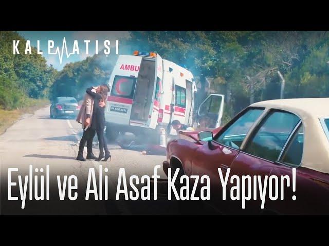 Eylül ve Ali Asaf kaza yapıyor!