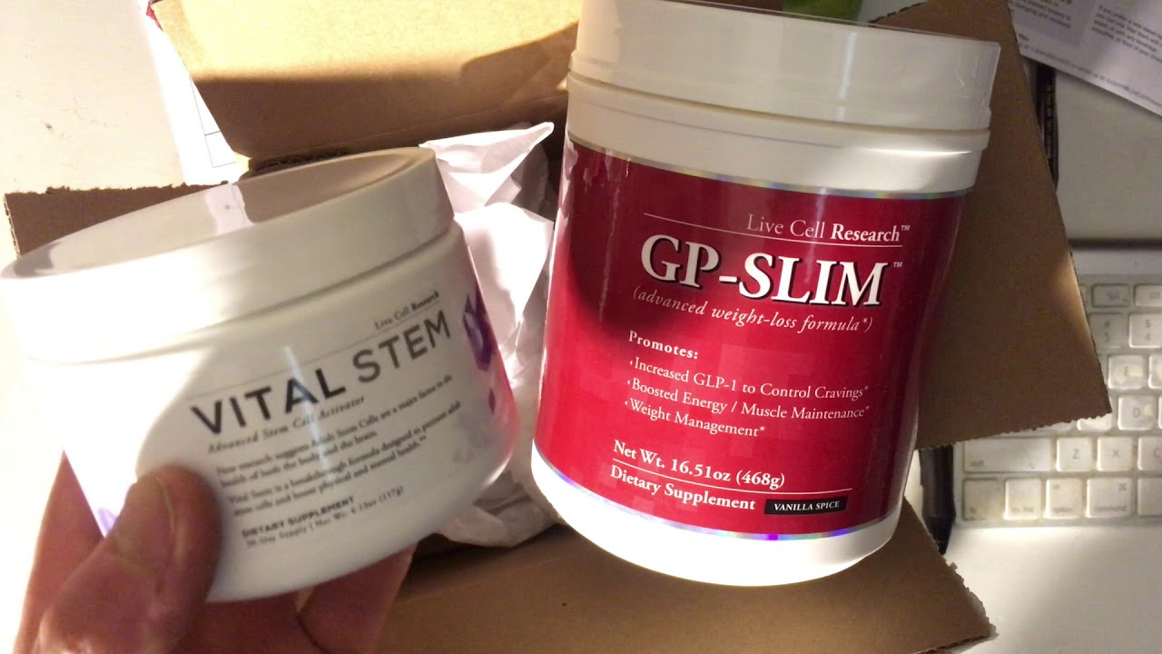 Vital Stem Gp Slim Review By Live Cell Research Youtube