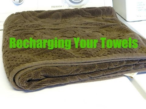 How to Recharge Your Towels