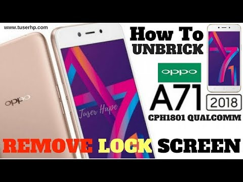 Remove Pattern Lock Oppo A71 Cph1801 2018 Done - GSM-Forum