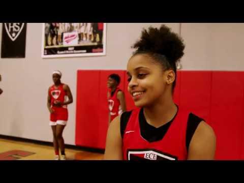 60 Examples of #DetroitGenius: DEPSA Girls Varsity Basketball Team