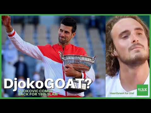 REACTION: Djokovic COMES BACK to Win Roland Garros | THE SLICE