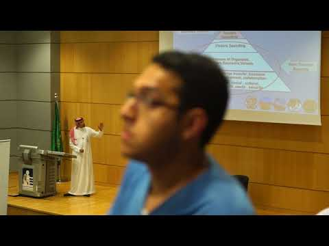 Alfaisal University College of Business Lecture Series by Eng. Tariq Al-Essa