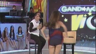 Solenn Shows Panty on GGV